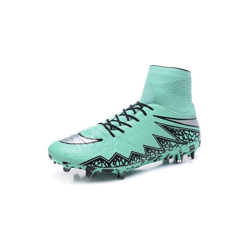 Nike Ii Chaussures Hypervenom Argent Phantom Football Bleu Fg TwxqI5Px6