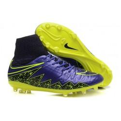 Chaussures football Nike Hypervenom Phantom II FG - Violet Jaune