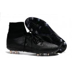 Chaussures football Nike Hypervenom Phantom II FG - Tout Noir