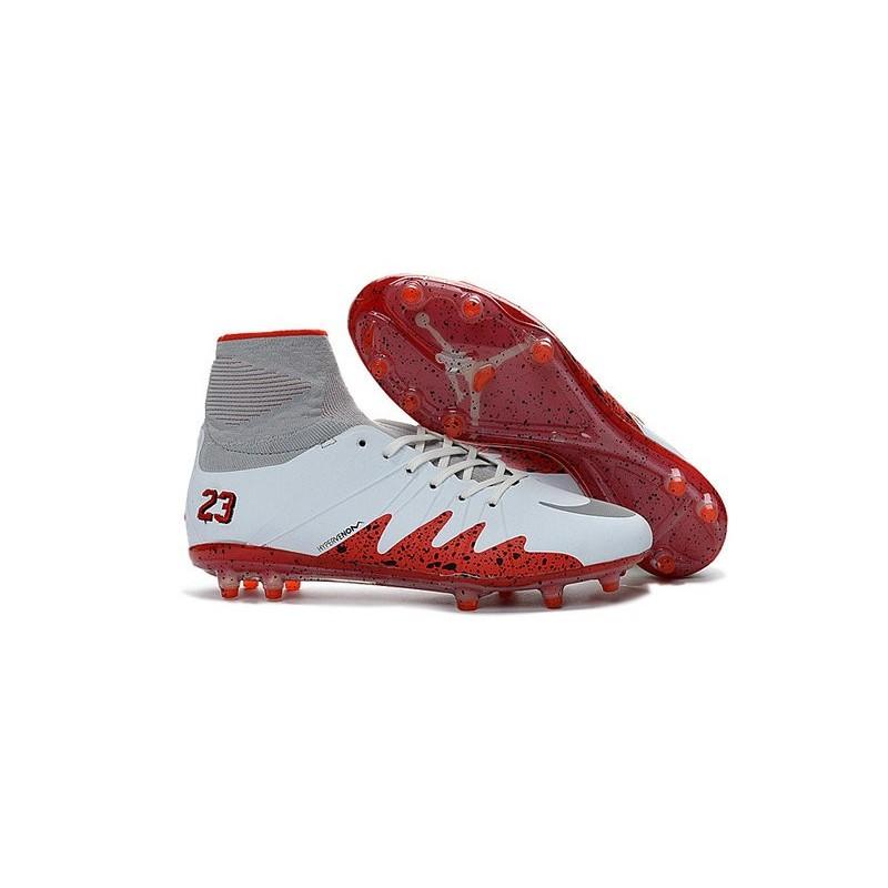 the latest 2533d 710ed Nike Chaussure Hypervenom Phantom 2 FG ACC Neymar X Jordan NJR Blanc Rouge  Zoom. Précédent. Suivant