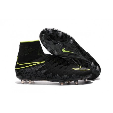 Nike Chaussure Hypervenom Phantom 2 FG ACC Homme Noir Vert