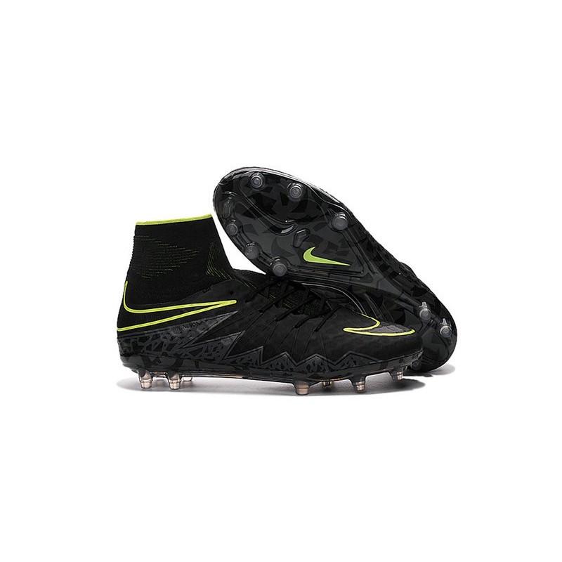 new concept f46d9 dc3b4 Nike Chaussure Hypervenom Phantom 2 FG ACC Homme Noir Vert Zoom. Précédent.  Suivant