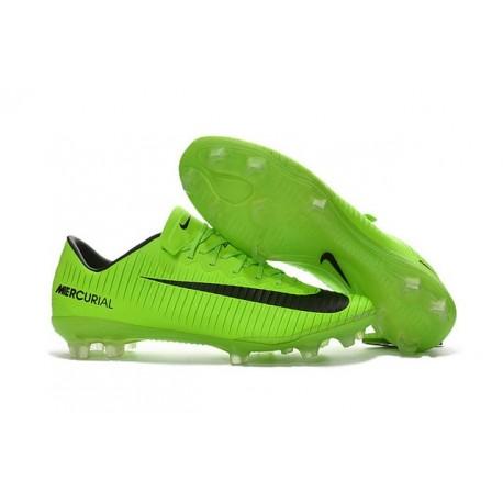 Nike Mercurial Vapor 11 FG ACC Crampons de Foot Vert Noir