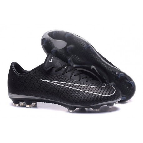 Nike Mercurial Vapor 11 FG ACC Crampons de Foot Noir Blanc