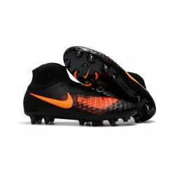 Nike Magista Obra II FG Nouveau Chaussure de Foot Noir Orange