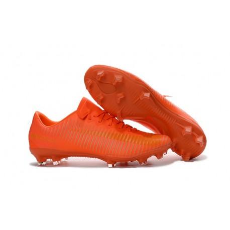 Nike Mercurial Vapor 11 FG ACC Crampons de Foot Tout Orange