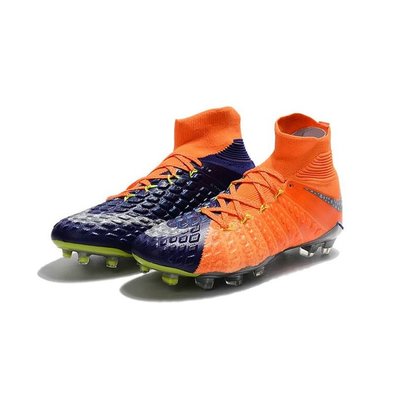 Chaussures Nike Hypervenom orange homme DjBW7