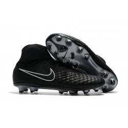 Crampons Football Nouvel Nike Magista Obra 2 FG Noir