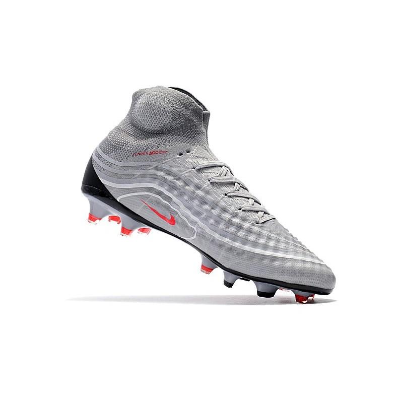 best service 1d5cb 3ccaf Crampons Football Nouvel Nike Air Max Magista Obra 2 FG Gris Zoom. Précédent.  Suivant