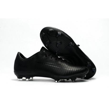 Chaussure Ronaldo 2017 Nike Mercurial Vapor XI FG Tout Noir