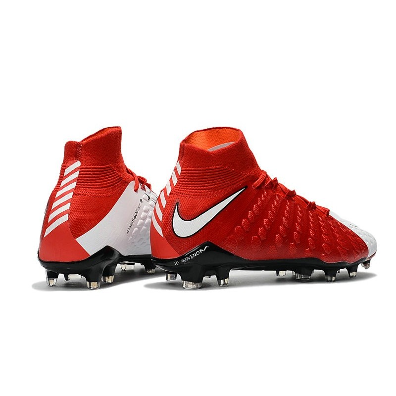 Football Iii Fg Rouge Hypervenom De Phantom Chaussure Nike