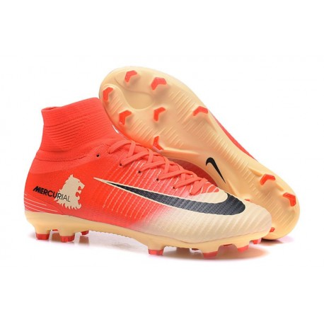 Nike Meilleur Chaussure Mercurial Superfly 5 FG - Rouge Or