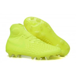 Crampons Football Nouvel Nike Magista Obra 2 FG Volt