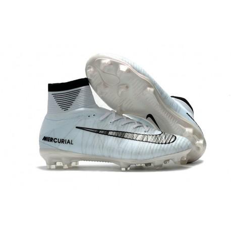 Nike Meilleur Chaussure Mercurial Superfly 5 CR7 FG - Blanc Noir