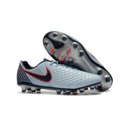 Nike Magista Opus FG ACC Chaussures de Football Gris Noir