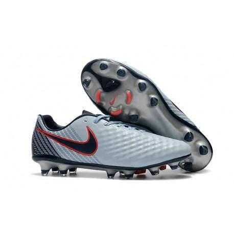 separation shoes 2106d 9b1b9 Nike Magista Opus FG ACC Chaussures de Football Gris Noir