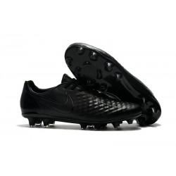 Nike Magista Opus FG ACC Chaussures de Football Tout Noir