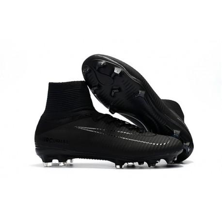 Crampons Nouveaux Homme Nike Mercurial Superfly 5 FG - Noir