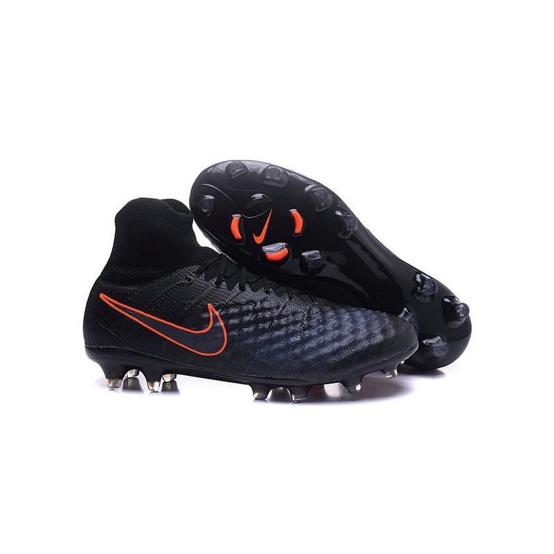 Chaussures Noir Football Ii Obra Nike Magista Orange Fg DE2IHW9