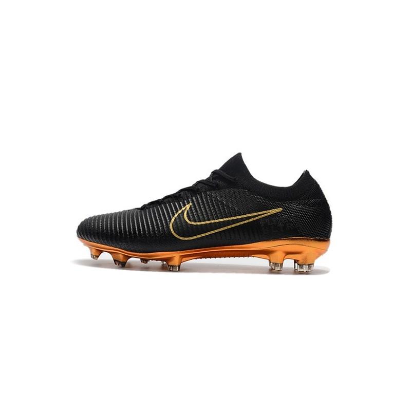 De Ultra Crampons Nike Mercurial Or Vapor Flyknit Fg Noir Football UMVpLGqSz