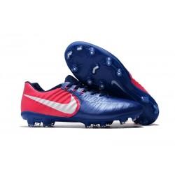 Chaussure Foot Nike Tiempo Legend 7 FG ACC - Bleu Rose