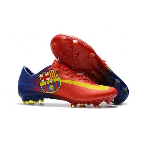 Nike Mercurial Vapor XI FG Homme Chaussures de Foot - FC Barcelona