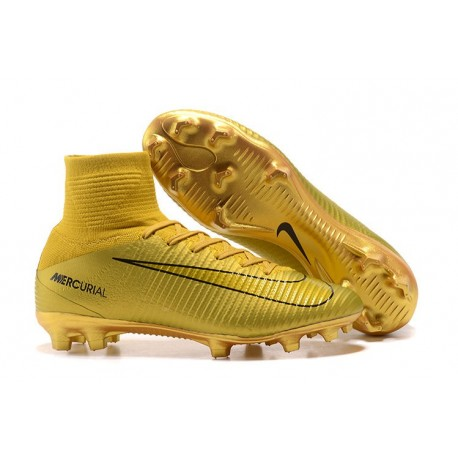 Nike Mercurial Superfly V Dynamic Fit FG Cristiano Ronaldo Or CR7