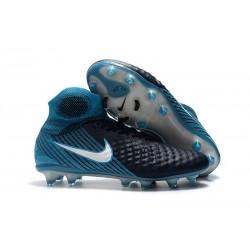 Nike Magista Obra II FG Nouveaux Chaussure de Foot - Noir Bleu