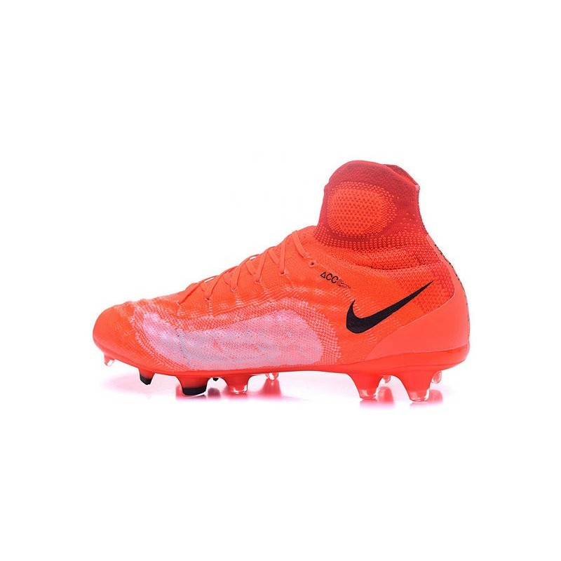 Chaussures Magista Ii Football Nike Orange Fg Obra Noir FJT1lKc
