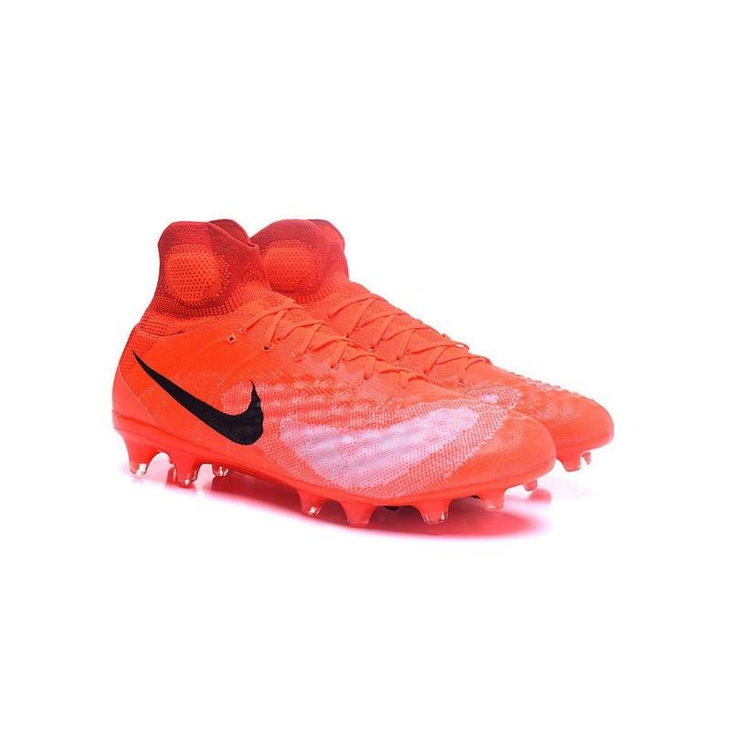 Magista Nike Fg Noir Chaussures Obra Ii Football Orange E5HqAH