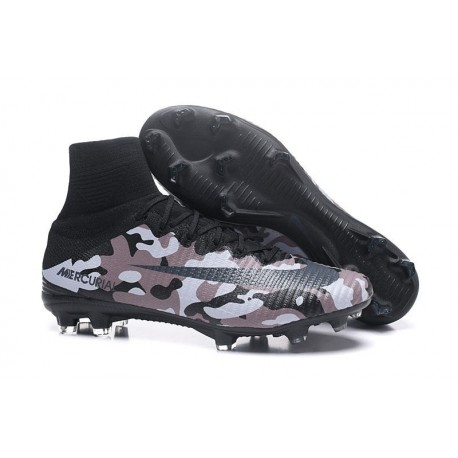 Nike Mercurial Superfly V Dynamic Fit FG Chaussure - Noir Marron