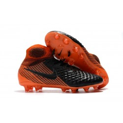 Nike Magista Obra II FG Nouveaux Chaussure de Foot - Noir Orange