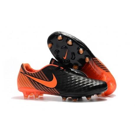 Crampons de Foot Nouvel Nike Magista Opus 2 FG - Noir Orange