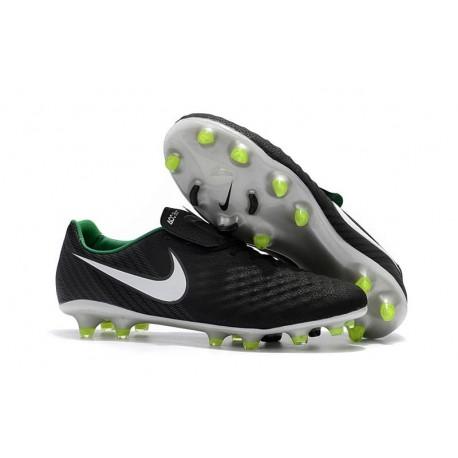 Crampons de Foot Nouvel Nike Magista Opus 2 FG - Noir Blanc
