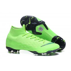 Coupe du Monde 2018 Nike Mercurial Superfly 6 Elite FG - Vert Noir