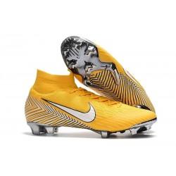 Coupe du Monde 2018 Neymar Nike Mercurial Superfly 6 Elite FG - Jaune