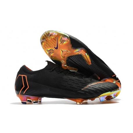 Nike Mercurial Vapor XII 360 Elite FG Chaussure Homme - Noir Orange