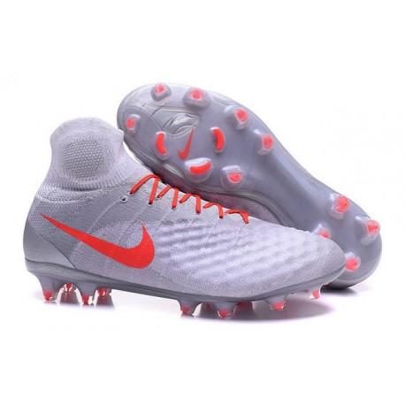 Nike Crampons de Foot Magista Obra 2 FG ACC Blanc Orange