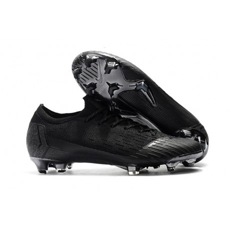 Nike Mercurial Vapor 12 Elite FG Crampons de Football Noir