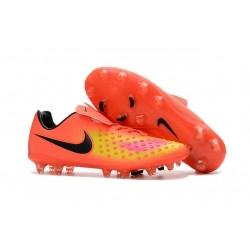 Nike Magista Opus FG ACC Chaussures de Football Orange Jaune