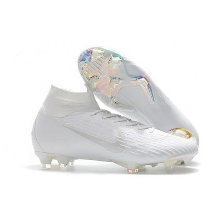 Nike Chaussures Mercurial Superfly 6 Elite FG - Blanc