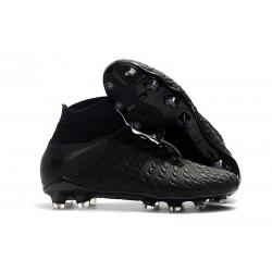Nike Crampons de Foot HyperVenom Phantom 3 DF FG - Noir Argent