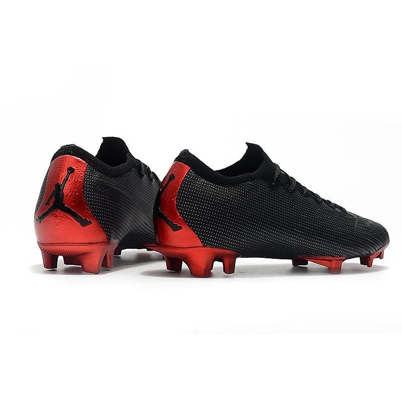 Vapor Jordan Rouge 12 Crampons Psg Noir X Nike Mercurial Elite Fg sCthQrd