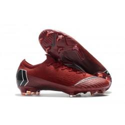 Nike Chaussures Mercurial Vapor XII 360 Elite FG - Rouge Noir