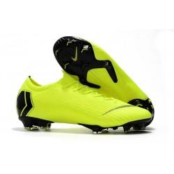 Nike Chaussures Mercurial Vapor XII 360 Elite FG - Volt Noir