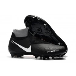 Nike Phantom VSN Elite Dynamic Fit FG Crampons - Noir Rouge Blanc