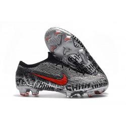 Neymar Nike Chaussures Mercurial Vapor XII 360 Elite FG - Noir Blanc Rouge