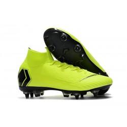 Nike Mercurial Superfly VI Elite SG-Pro AC Chaussures Volt Noir