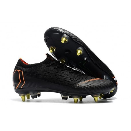 Chaussures Nike Mercurial Vapor 360 Elite SG-Pro Noir Orange
