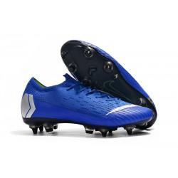 Chaussures Nike Mercurial Vapor 360 Elite SG-Pro Bleu Argent